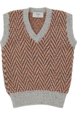 paade mode Wool-blend vest