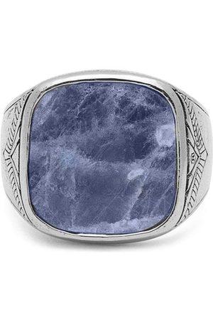Nialaya Jewelry Dumortierite signetring