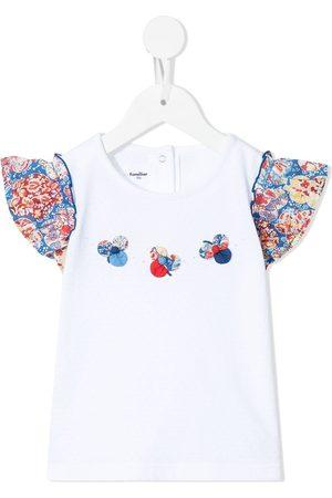 Familiar Piger Kortærmede - T-shirt med applikation