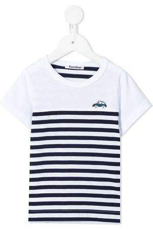 Familiar Stribet T-shirt