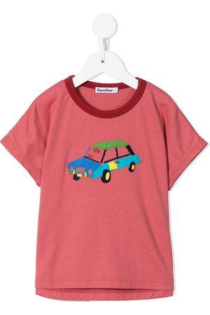 Familiar Drenge Kortærmede - T-shirt med applikation