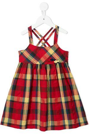 Familiar Piger Kjoler - Skotskternet solkjole