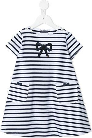 Familiar Piger Kortærmede - Stribet T-shirt-kjole