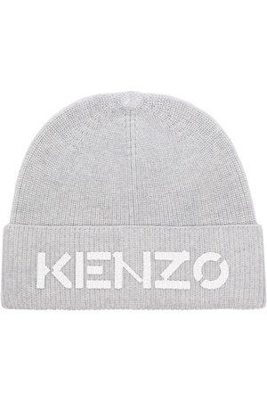 Kenzo Embroidered logo ribbed beanie