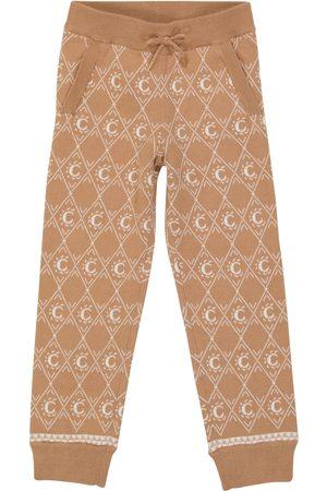 Chloé Piger Joggingbukser - Jacquard cotton-blend sweatpants