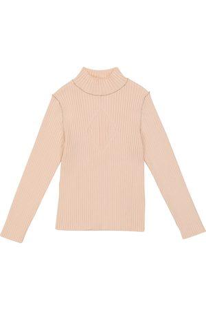 Chloé Ribbed-knit mock neck sweater