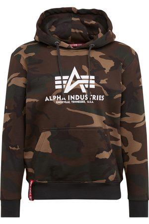 Alpha Industries Mænd Sweatshirts - Sweatshirt 'Basic Hoody Camo