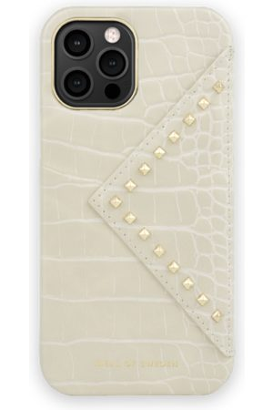 IDEAL OF SWEDEN Mobil Covers - Statement Case iPhone 12 Pro Max Beatstuds Cream Croco