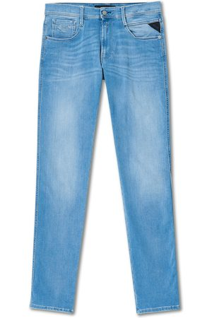 Replay Mænd Jeans - Anbass Hyperflex Re-Used Jeans Light Blue