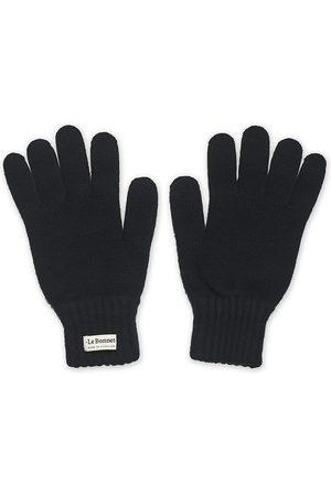 Le Bonnet Mænd Handsker - Merino Wool Gloves Midnight