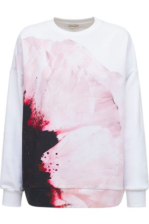 Alexander McQueen Kvinder Sweatshirts - Paper Flower Sweatshirt