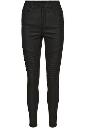 Vero Moda Kvinder High waist - Vmsophia High Waist Biker Skinny Fit Jeans Kvinder