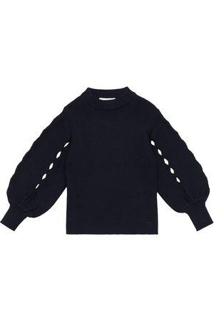 Chloé Cotton-blend sweater
