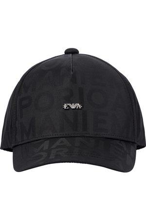 Emporio Armani Drenge Kasketter - Logo-jacquard cap