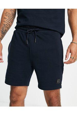 Marshall Artist Mænd Sweatshirts - Siren - Marineblå shorts i sweatshirt-stof