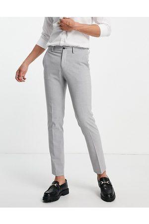 JACK & JONES Premium - Grå habitbukser i skinny fit