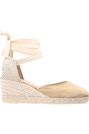 MANEBI Hamptons wedge sandals