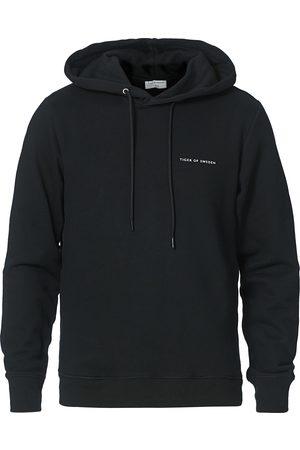 Tiger of Sweden Mænd Sweatshirts - Dominick Cotton Hoodie Black