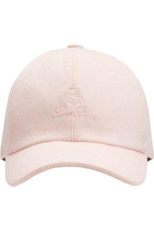 Loro Piana Piger Kasketter - Logo Cashmere & Wool Baseball Hat