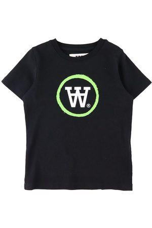 WoodWood Kortærmede - T-Shirt - Ola - Black