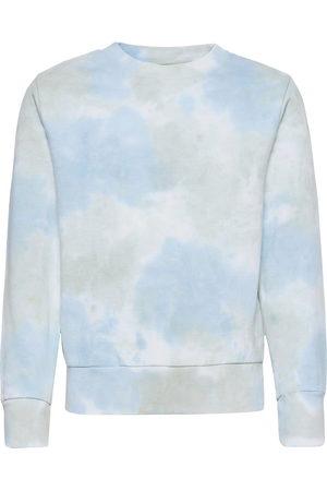 Grunt Børn Sweatshirts - Kurt Crew Sweat Sweatshirt Trøje Blå