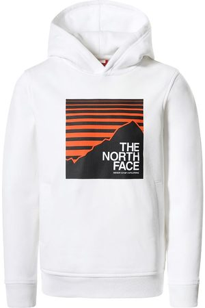 The North Face Hættetrøje - Box - White/Red