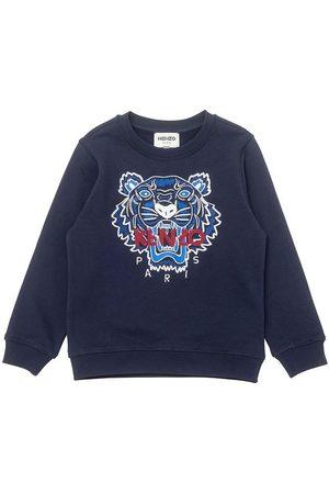 Kenzo Sweatshirts - Sweatshirt - Electric Blue m. Tiger