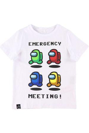 NAME IT T-Shirt - Noos - NkmAmongUs - Jase - Bright White