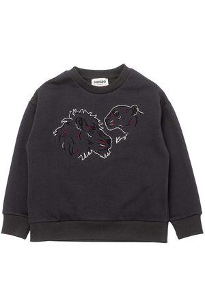 Kenzo Sweatshirt - Mørkegrå m. Tiger