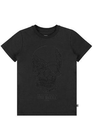 Philipp Plein T-Shirt - Stones Skull - Black
