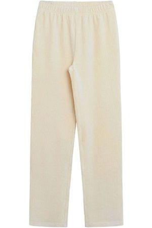 Grunt Bukser - Bukser - Fløjl - Trine - Cream White