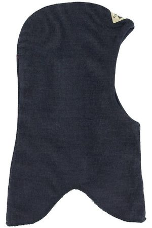 Racing Kids Elefanthue - Uld/Bomuld - 2-lags - Navy