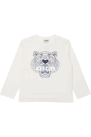 Kenzo Bluser - Bluse - Off White m. Tiger