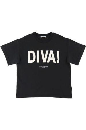 Dolce & Gabbana Kortærmede - T-shirt - Diva - /