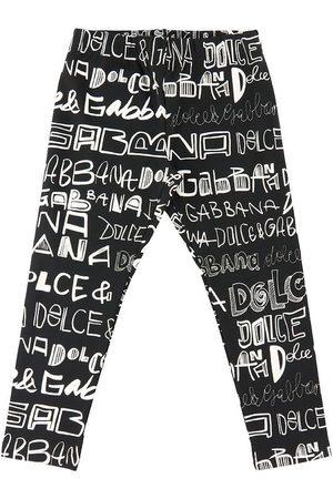 Dolce & Gabbana Leggings - DG Next - m. AOP Logo