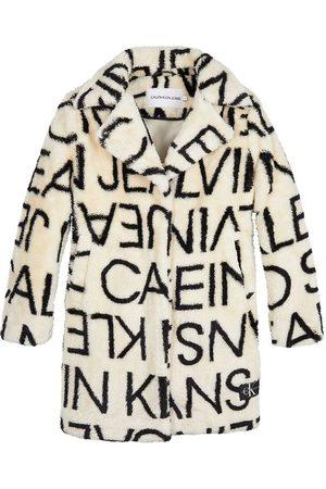 Calvin Klein Fleecejakker - Fleecejakke - Logo - Whitecap Grey