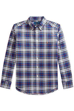 Ralph Lauren Langærmede skjorter - Polo Skjorte - Blue/White Multi