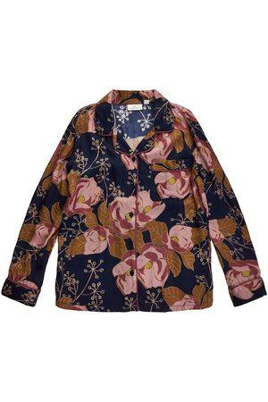 The New Skjorte - Vivid - Big Flower