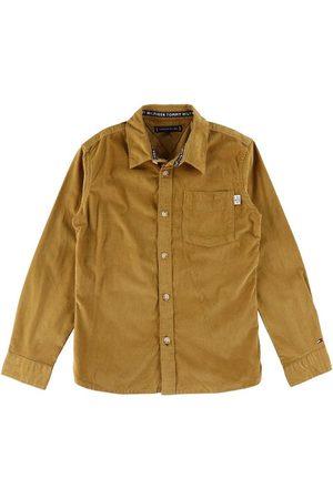 Tommy Hilfiger Langærmede skjorter - Skjorte - Vintage Brass