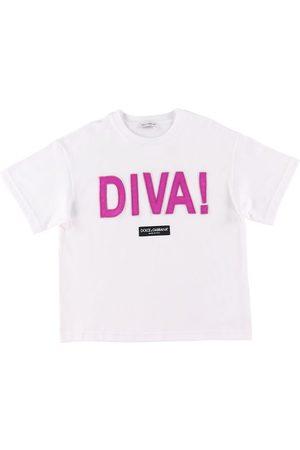 Dolce & Gabbana Kortærmede - T-shirt - Diva - /Fuchsia