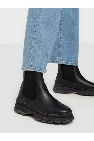 Vero Moda Vmbell Leather Boot Flat Boots