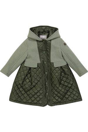 Il gufo Piger Vinterfrakker - Padded virgin wool duffel coat