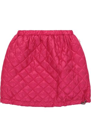 Il gufo Quilted technical skirt