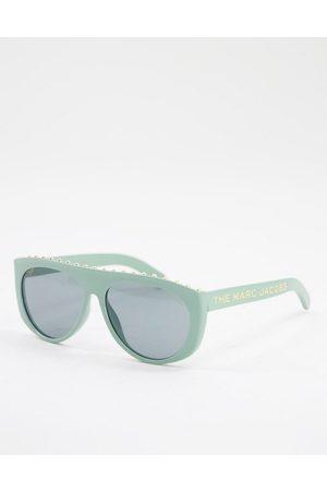 Marc Jacobs 492/S - Runde solbriller med detalje