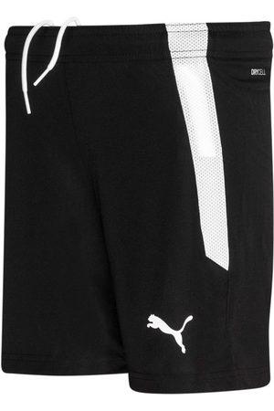 PUMA TeamLIGA Shorts Jr Black- White