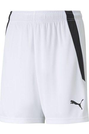 PUMA Mænd Shorts - TeamLIGA Shorts Jr White- Black