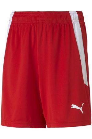 PUMA Mænd Shorts - TeamLIGA Shorts Jr Red- White