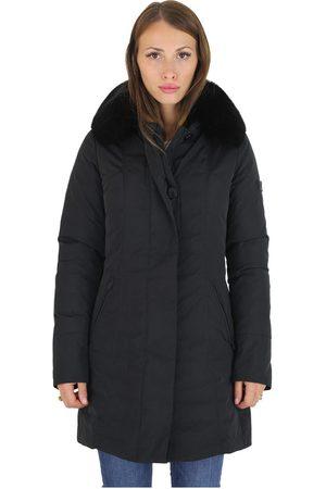Peuterey Slim Fit Jacket With Fur Metropolitan MX 02 FUR