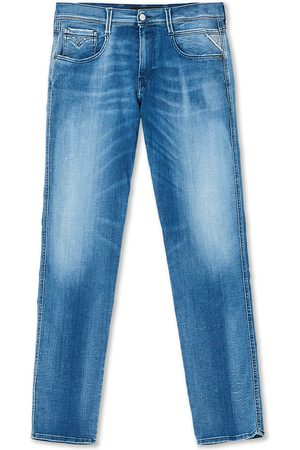 Replay Anbass Hyperflex White Shades Jeans Light Blue
