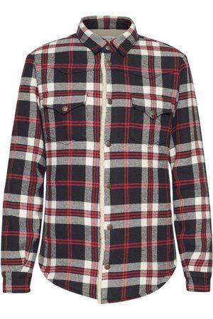 SAINT LAURENT Mænd Langærmede skjorter - Check Oversize Western Shirt